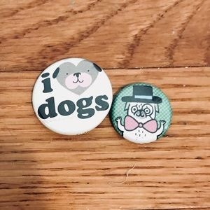 Accessories - Dog Pin Set